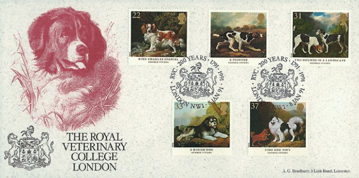 Dogs: Paintings by Stubbs, Royal Veterinary College
