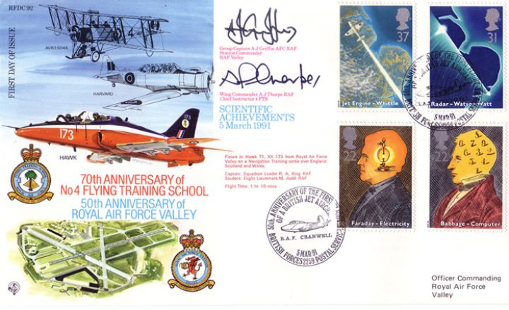 Scientific Achievements, 70th Anniversary of Flying Training School