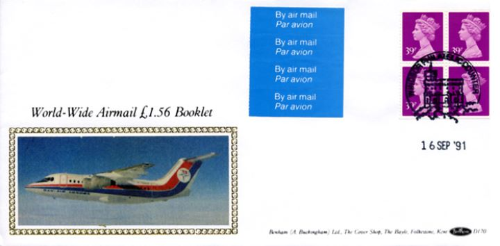 Window: Airmail: £1.56, Dan-Air Carriers
