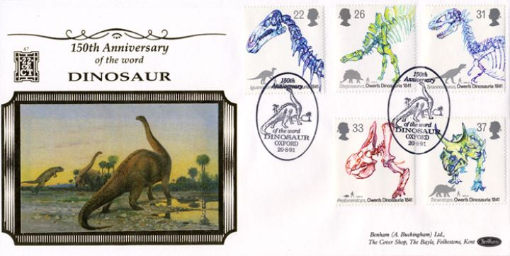 Dinosaurs, 150th Anniversary of the use of the word