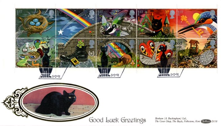 Lucky Symbols (Greetings), Black Cat