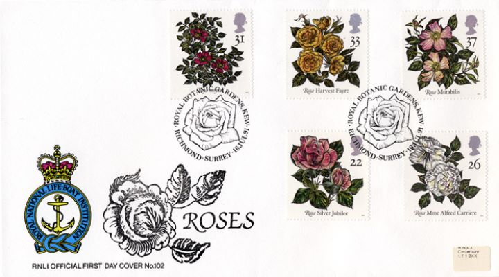 Roses 1991, RNLI Official