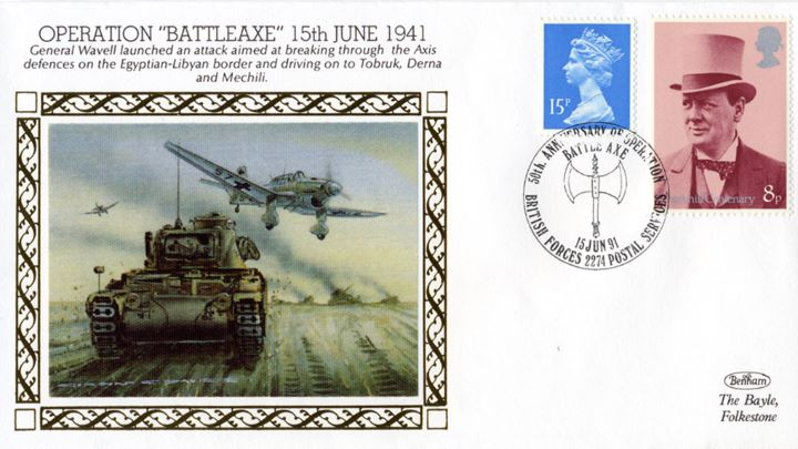Operation Battleaxe, General Wavell Launched an Attack
