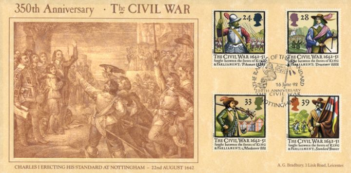 English Civil War, Raising the Standard