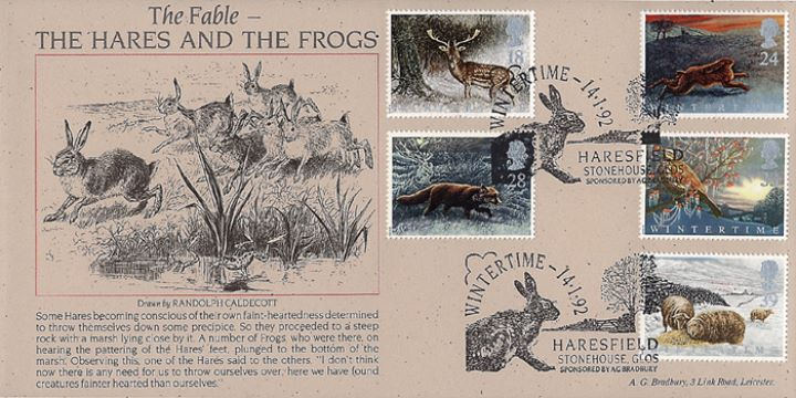 4 Seasons: Winter, Fable of the Hares & the Frogs