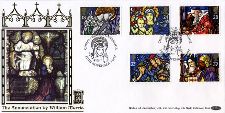 Christmas 1992, The Annunciation by William Morris
