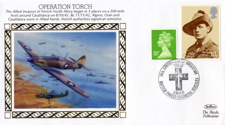 Operation Torch, Allied invasion of French North Africa