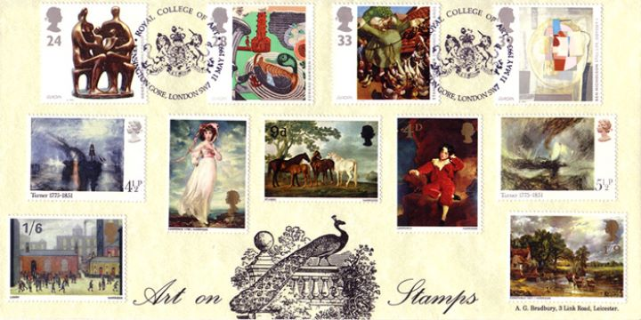 20th Century Art, Art on Stamps