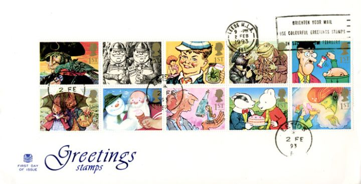 Gift Giving (Greetings), Slogan Postmarks