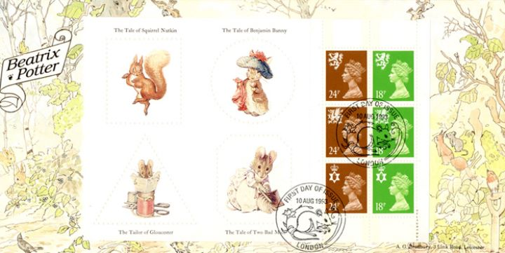 PSB: Beatrix Potter - Pane 2, The Tale of Peter Rabbit