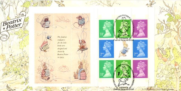 PSB: Beatrix Potter - Pane 4, The Tale of Peter Rabbit