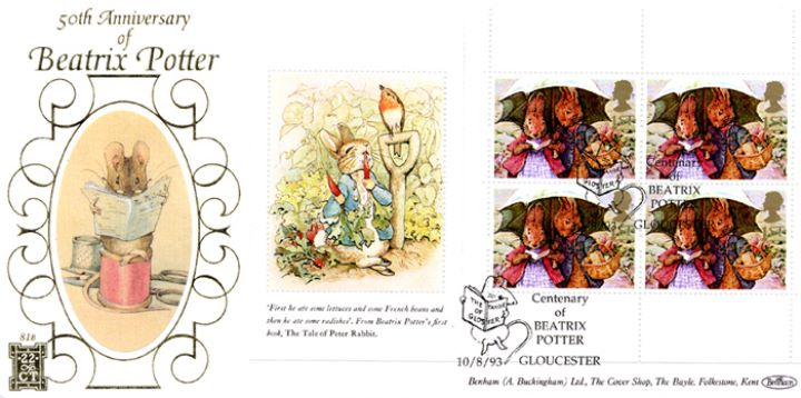 PSB: Beatrix Potter - Pane 1, The Tailor of Gloster