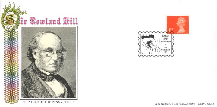 Machins (EP): Self Adhesive Definitive: 1st Flame, Sir Rowland Hill