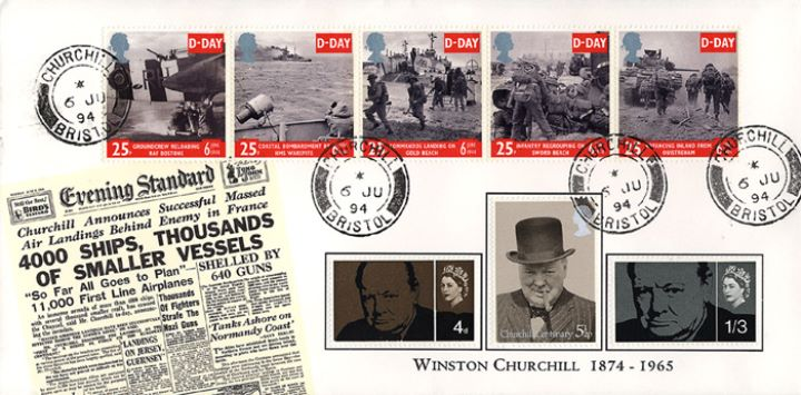 D-Day 50th Anniversary, Churchill cds