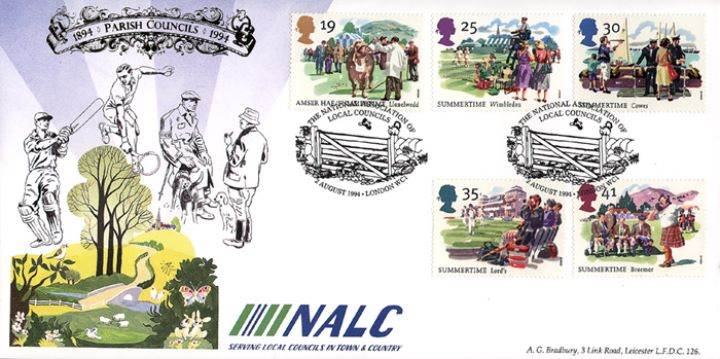 4 Seasons: Summer, Nat.Assoc. of Local Councils