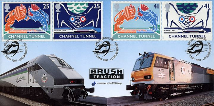 Channel Tunnel, Brush Traction