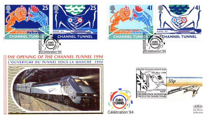 Channel Tunnel, Euro Tunnel Celebration