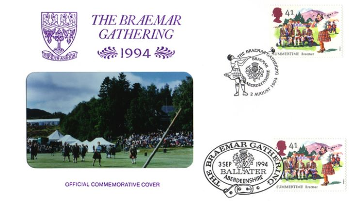 4 Seasons: Summer, Braemar Gathering