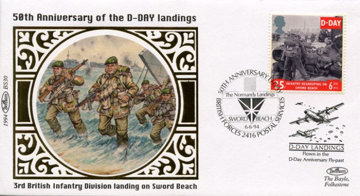 D-Day 50th Anniversary, Sword Beach