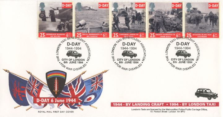 D-Day 50th Anniversary, DDay - London Taxi