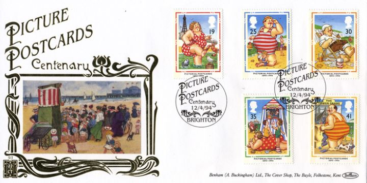 Picture Postcards, Punch and Judy Show on Beach