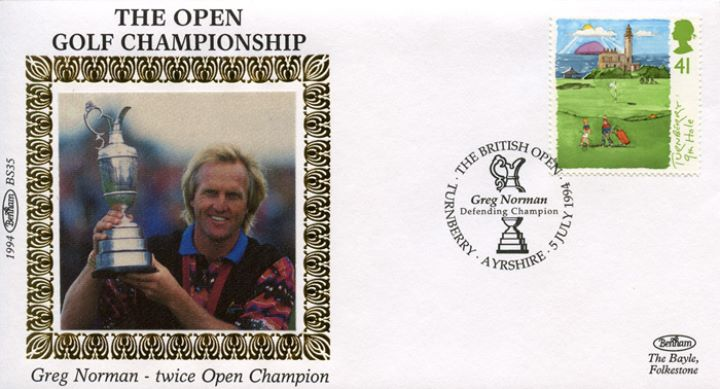 Golf, Greg Norman