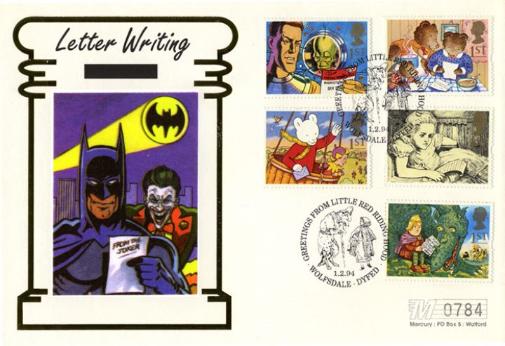 Messages (Greetings), Batman and Joker
