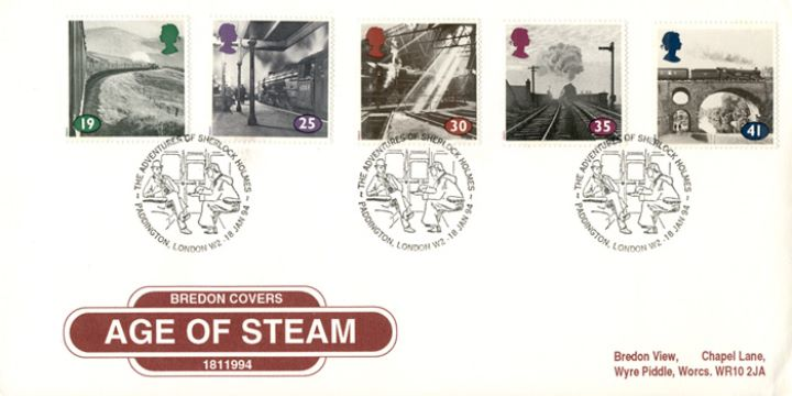 The Age of Steam, Special Handstamps