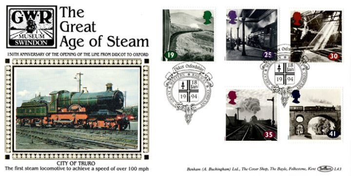 The Age of Steam, City of Truro