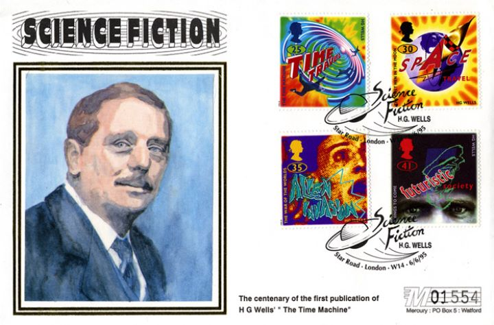 Science Fiction, Portrait of H G Wells