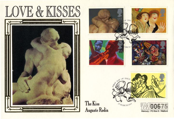 Love & Kisses (Greetings), The Kiss by Rodin