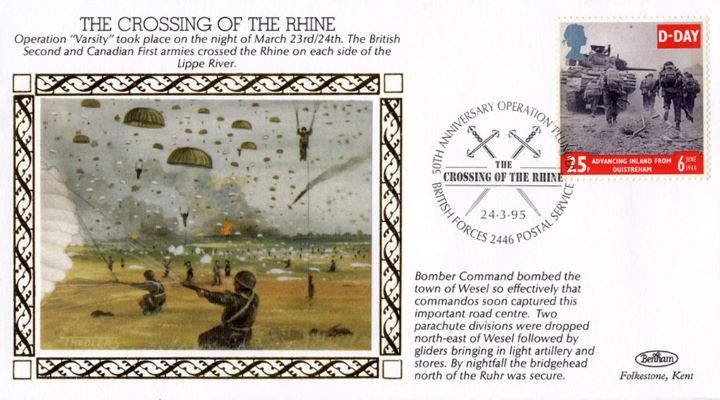 The Crossing of The Rhine, Two Parachute Divisions