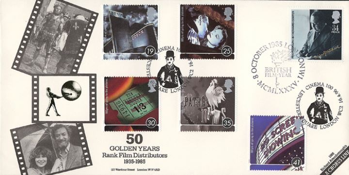 Cinema Centenary, Rank Film Distributors