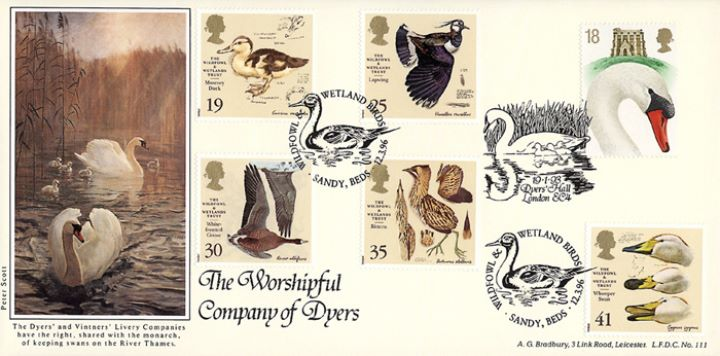Wildfowl & Wetlands Trust, Worshipful Company of Dyers