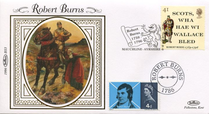 Robert Burns Bicentenary, William Wallace