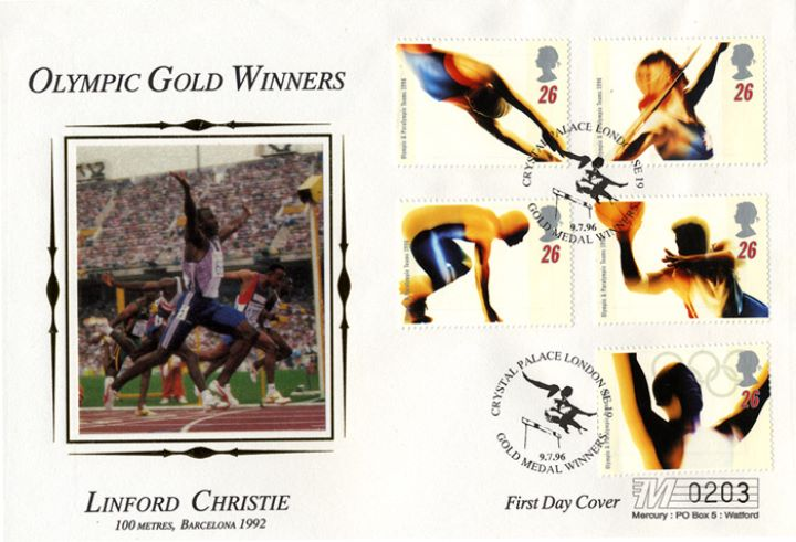 Olympic Games 1996, Linford Christie