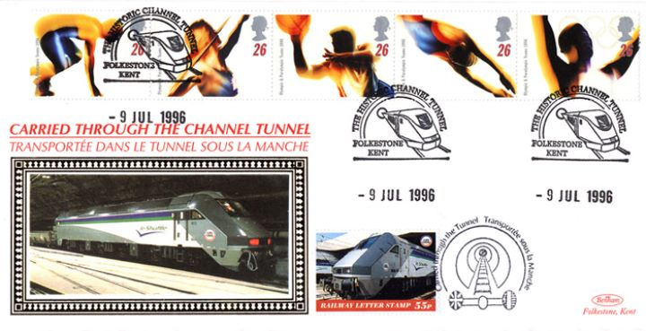 Olympic Games 1996, Channel Tunnel