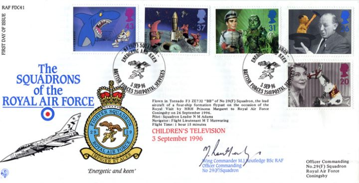 Children's Television, Squadrons of the Royal Air Force