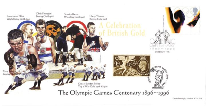 Olympic Games 1996, Boxing, Wrestling and Tug o' War