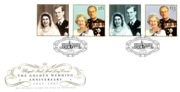 Golden Wedding 1947-1997