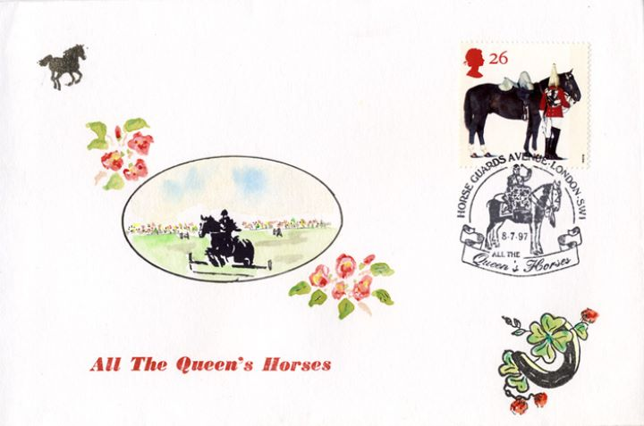All the Queen's Horses, Show Jumping