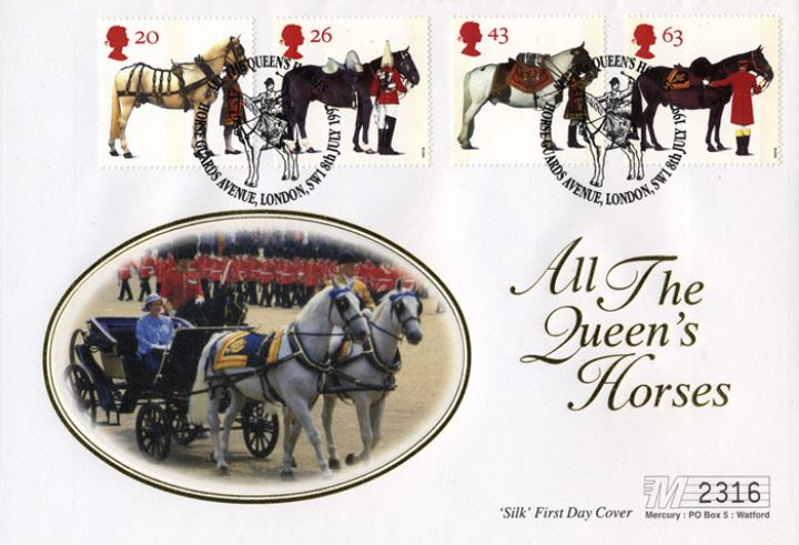All the Queen's Horses, Trooping the Colour
