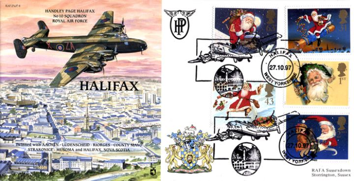 Christmas 1997, Handley Page Halifax