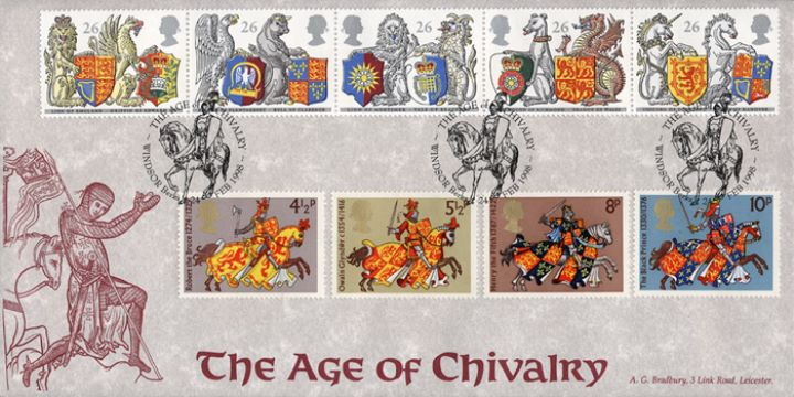 Queen's Beasts, Age of Chivalry with 1974 issue