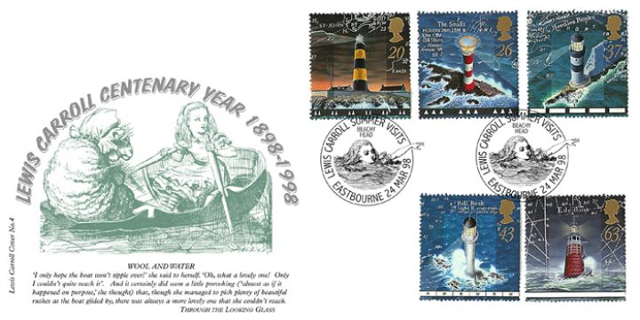 Lighthouses, Lewis Carroll Centenary (No.4)
