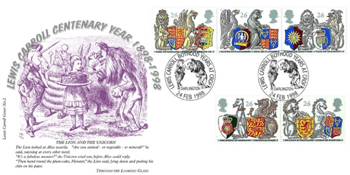 Queen's Beasts, Lewis Carroll Centenary (No.2)