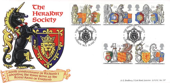 Queen's Beasts, Heraldry Society