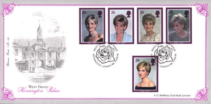 Diana, Princess of Wales, Kensington Palace Cover