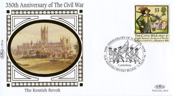 English Civil War, The Kentish Revolt