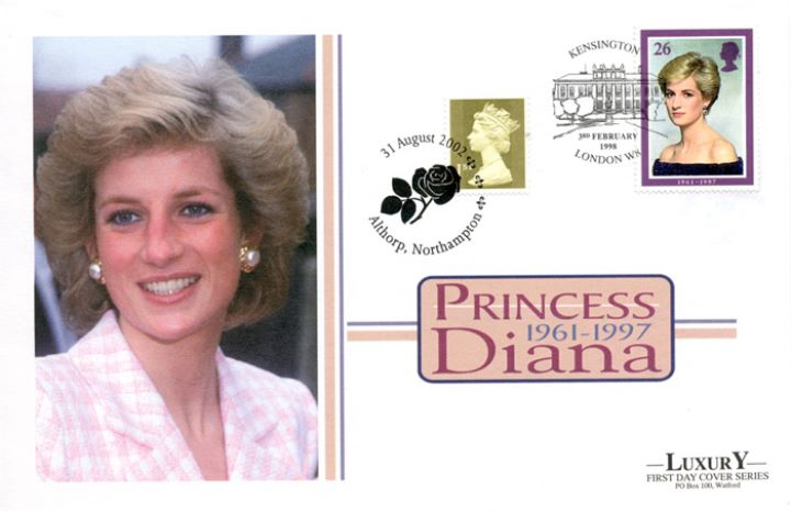 Diana, Princess of Wales, In Pink Check
